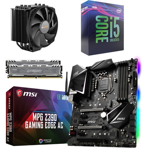 Kit évo Core i5-9600K + MSI MPG Z390 GAMING EDGE AC + Dark Rock 4 + 16 Go