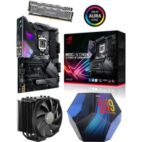 Kit �vo Core i9-9900K + Asus ROG STRIX Z390-E GAMING + Dark Rock 4 + 16 Go