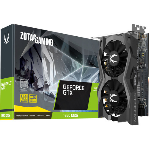 Zotac Gaming Geforce GTX 1650 SUPER Twin Fan, 4 Go