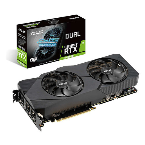 Asus GeForce RTX 2070 SUPER DUAL 8G EVO, 8 Go