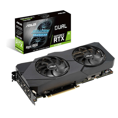 Asus GeForce RTX 2070 SUPER DUAL A8G EVO, 8 Go