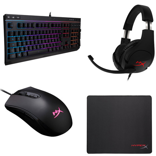 HyperX Alloy Core RGB + Cloud Stinger + Pulsefire Core + Fury S Pro S