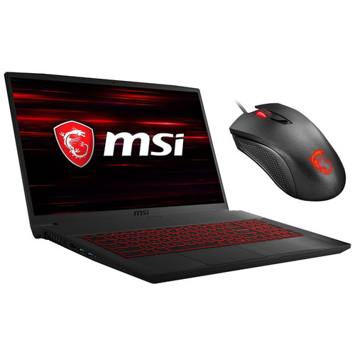 MSI GF75 9SC-258FR Thin + MSI Clutch GM10