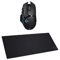 Logitech G502 Lightspeed + Tapis de Souris Gaming G840 XL