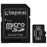 Kingston Canvas Select Plus - Micro SDHC - UHS-I V10 A1 - 32 Go