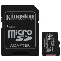 Kingston Canvas Select Plus - Micro SDXC - UHS-I V10 A1 - 64 Go