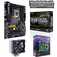 Kit �vo Core i5-9600KF + Asus TUF Z390 PLUS GAMING + Pure Rock + 16 Go