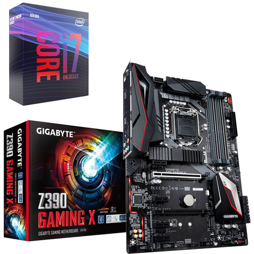 Intel Core i7-9700K (3.6 GHz) + Gigabyte Z390 GAMING X