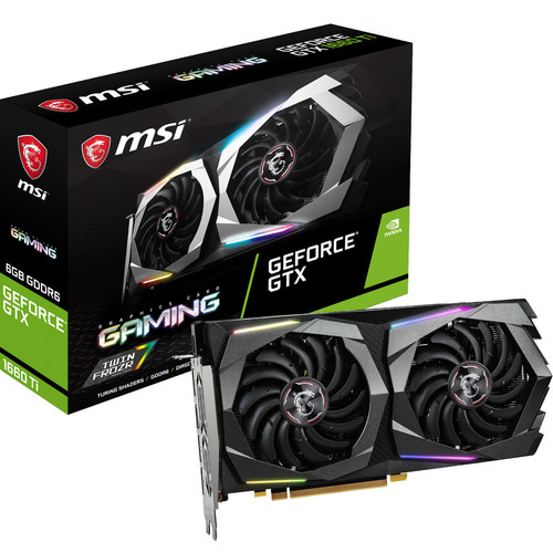 MSI GeForce GTX 1660 Ti GAMING