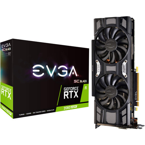 EVGA GeForce RTX 2060 SUPER SC BLACK GAMING