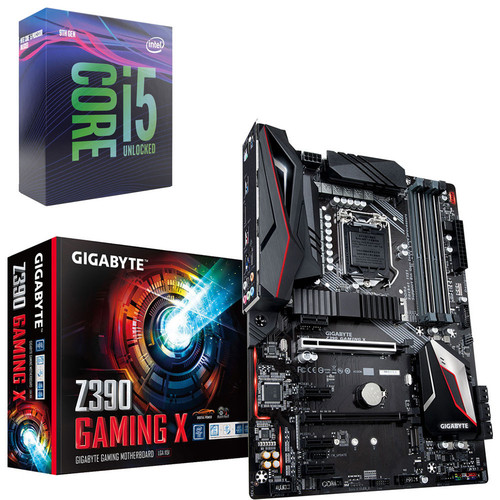 Intel Core i5-9600K (3.7 GHz) + Gigabyte Z390 GAMING X