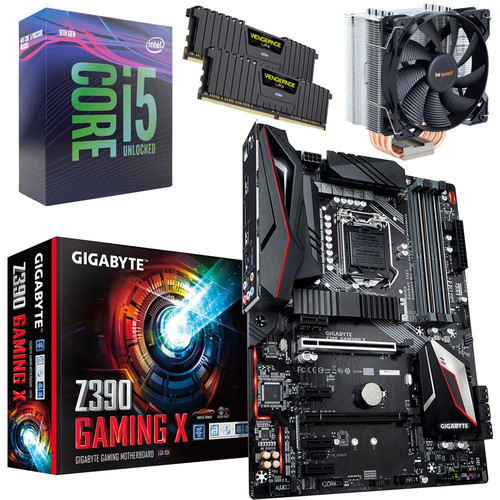 Kit évo Core i5-9600K + Gigabyte Z390 GAMING X + Pure Rock + 16 Go