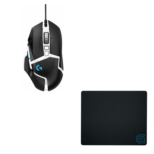 Logitech G502SE HERO + Logitech G240 Cloth Gaming