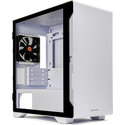 Thermaltake S100 Tempered Glass Snow Edition - Blanc