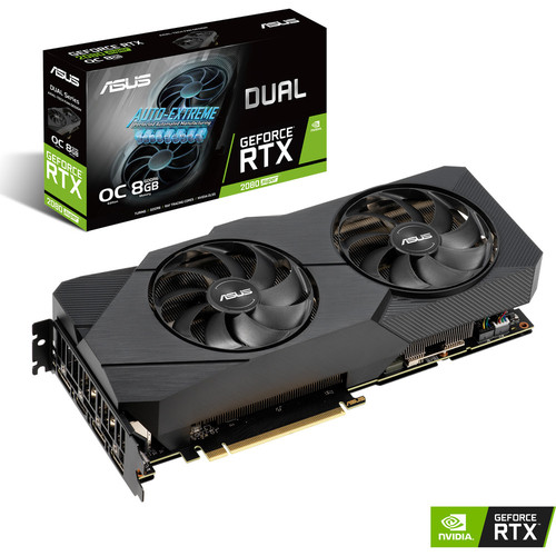 Asus GeForce RTX 2080 SUPER DUAL O8G EVO V2