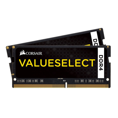 SO-DIMM DDR4 Corsair Value Select - 8 Go (2 x 4 Go) 2133 MHz - CAS 15