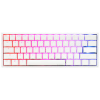 Ducky Channel One 2 Mini RGB Blanc (Cherry MX Speed Silver) (AZERTY)
