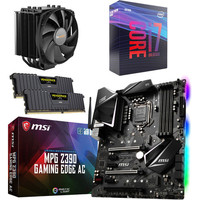 Kit �vo Core i7-9700K + MSI MPG Z390 GAMING EDGE AC + Dark Rock 4 + 16 Go