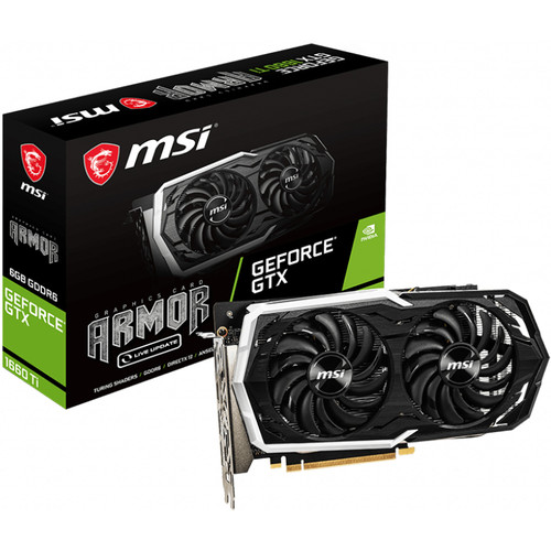 MSI GeForce GTX 1660 Ti ARMOR 6G