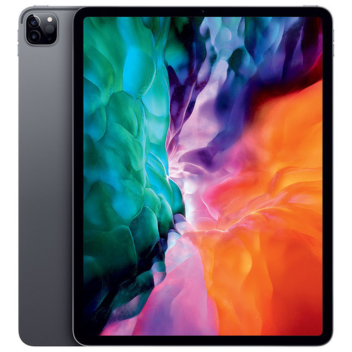 "Apple iPad Pro (2020) - 12.9"" - 256 Go - Wi-Fi + Cellular - Gris Sidéral"