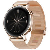 Huawei Watch GT 2 - 42 mm - Maille Milanaise / Or