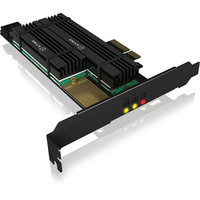 Carte contr�leur M.2 NVMe - 2 ports - PCI-Express - Icy Box