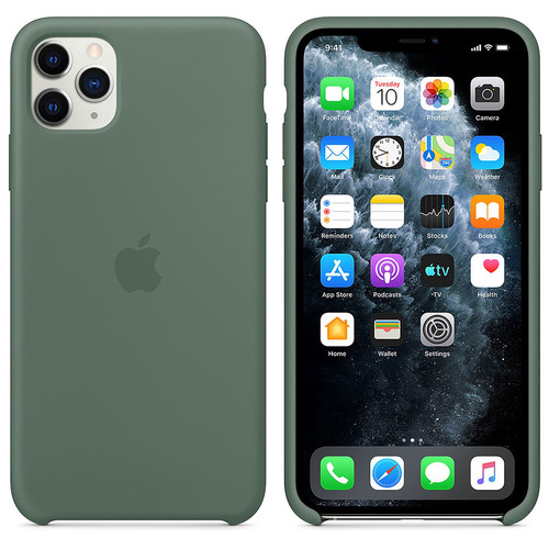 Apple iPhone 11 Pro Max - Coque en silicone - Pinède
