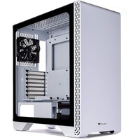 Thermaltake S300 Tempered Glass Snow Edition - Blanc