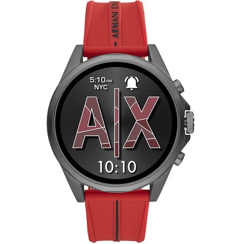 Armani Exchange Connected Gen.4 - 46 mm - Silicone / Rouge