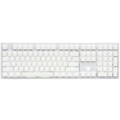Ducky Channel One 2 Backlit Blanc (Cherry MX Brown)(AZERTY)