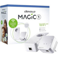 Pack de 2 adaptateurs CPL Devolo Magic 1 Wi-Fi mini
