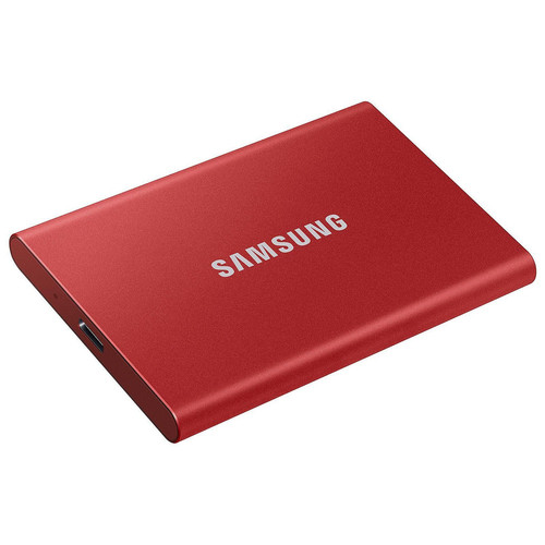 Samsung T7 2 To - Rouge