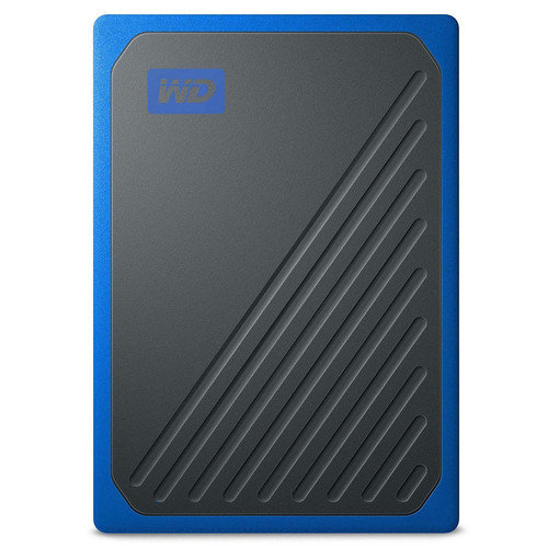 Western Digital WD My Passport Go 500 Go - Noir/Bleu