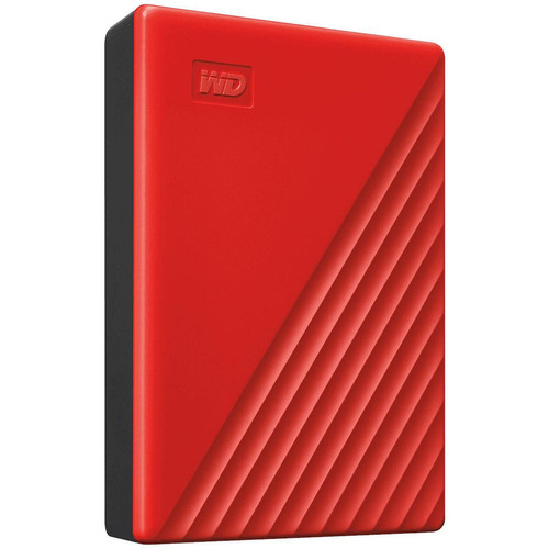 Western Digital WD My Passport 4 To - Rouge