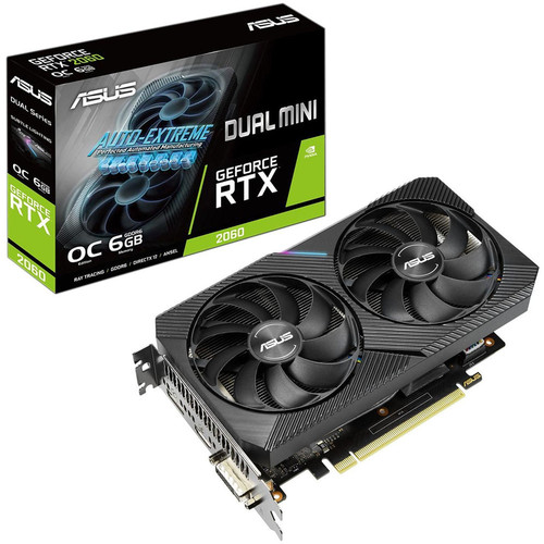 Asus GeForce RTX 2060 DUAL O6G MINI  + Rainbow Six Siege Gold Edition offert !