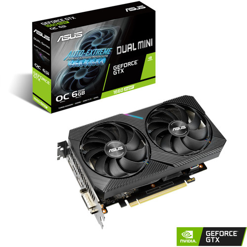 Asus GeForce GTX 1660 SUPER DUAL O6G MINI