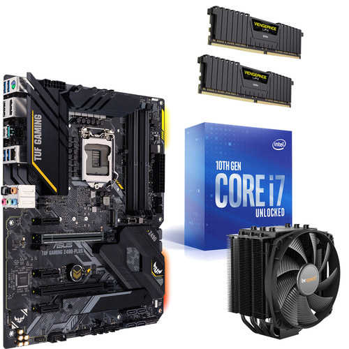 Kit évo Core i7-10700K + ASUS TUF GAMING Z490-PLUS + Dark Rock 4 + 16 Go + Dying Light 2 et Dying Light Enhanced Edition offerts !