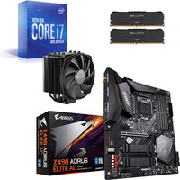 Kit �vo Core i7-10700K + GIGABYTE Z490 AORUS ELITE AC + Dark Rock 4 + 16 Go