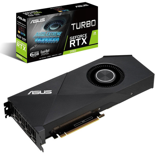 ASUS GeForce RTX 2060 TURBO + Rainbow Six Siege Gold Edition offert !