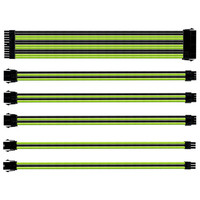 Cooler Master Sleeved Extension Cable Kit - Noir/Vert