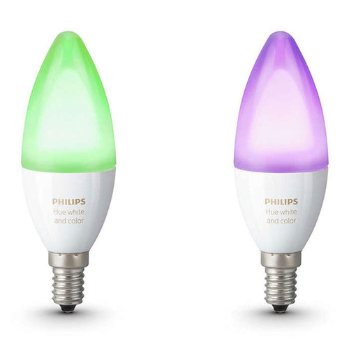 Philips Hue White & Color Ambiance Flamme Duobox E14