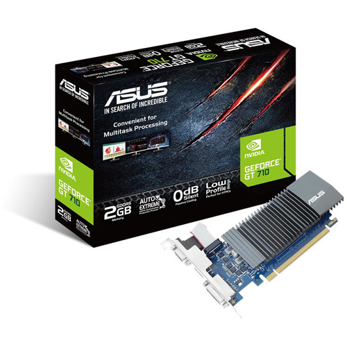 Asus GeForce GT 710 SL 2GD5 (2 Go)