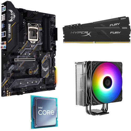Kit évo Core i5-10400F + ASUS TUF GAMING B460-PLUS + 16 Go