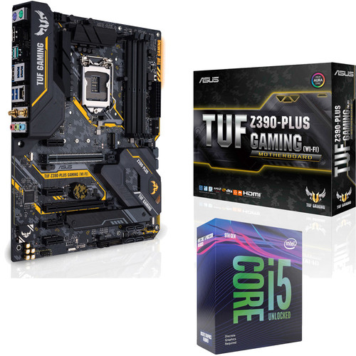 Intel Core i5-9600KF (3.7 GHz) + Asus TUF Z390-PLUS GAMING WIFI + Marvel's Avengers offert !