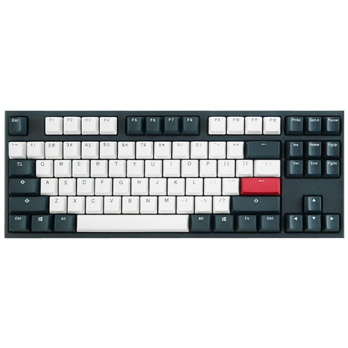 Ducky Channel One 2 Tuxedo TKL (Cherry MX Silent Red)(AZERTY)