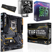 Kit �vo Core i5-9600KF + Asus TUF Z390-PLUS GAMING + Fox Spirit VT120 + 16 Go