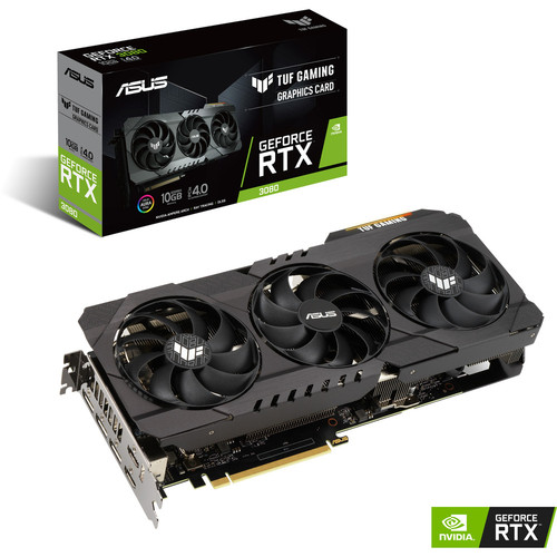 Asus GeForce RTX 3080 TUF O10G GAMING + Call of Duty: Black Ops Cold War offert !