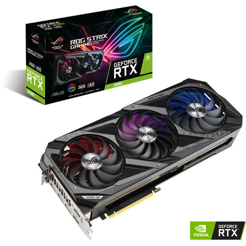 Asus GeForce RTX 3090 ROG STRIX O24G GAMING