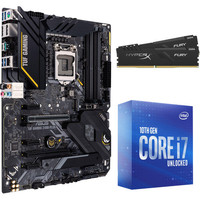 Intel Core i7-10700K (3.8 GHz) + ASUS TUF GAMING Z490-PLUS + 16 Go