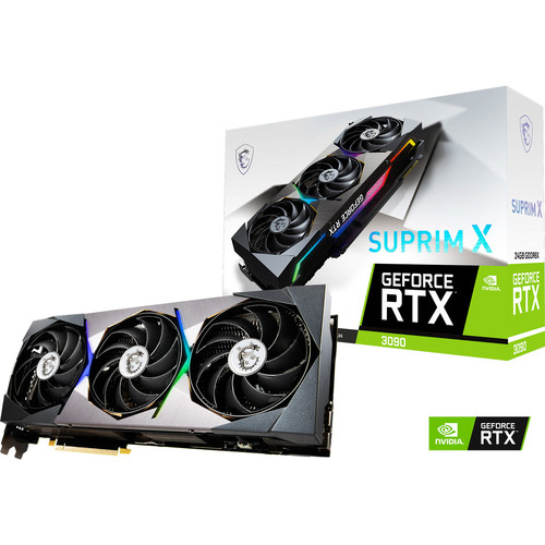 MSI GeForce RTX 3090 SUPRIM X + Call of Duty: Black Ops Cold War offert !